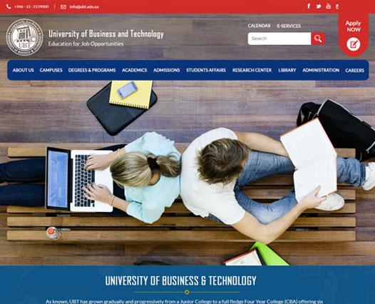 University website Kozhikode, Kerala, India